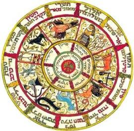 Jewish Calendar--Color