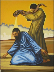 Moses Anointing Aaron