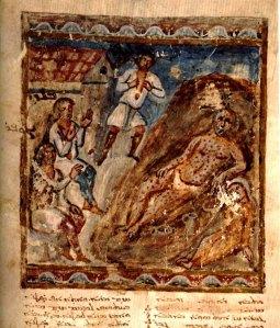 Job--Syriac Bible