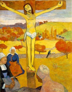 Yellow Christ--Gauguin