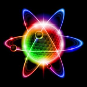 13502276-green-atom-electron-llustration-on-black-background