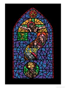 601751a-question-mark-on-stained-glass-posters