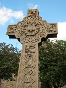 Celtic-Cross-Stenton-Kirkyard