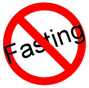 No Fasting Zone