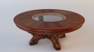 Classic-Round-Table-3D-Model-max-CGTrader-